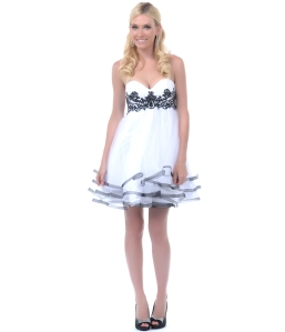Lets-White-Black-Sequined-Sweetheart-Dress-35438larger