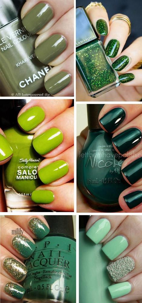 unghie-verdi-green-nailart